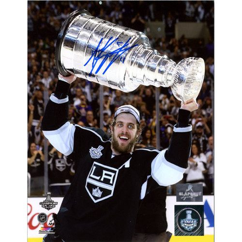 Anze Kopitar Signed Photo Los Angeles Kings 2014 Stanley Cup