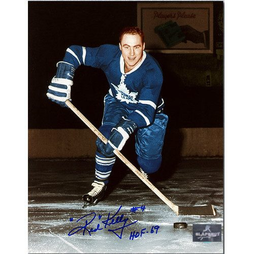 Red Kelly Leafs Signed Original Six 8x10 Photo