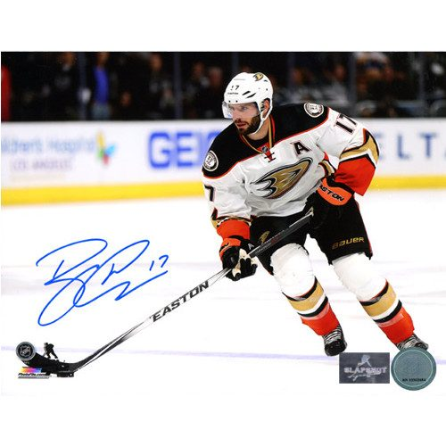 Ryan Kesler Signed Photo-Anaheim Ducks 8x10 Photo