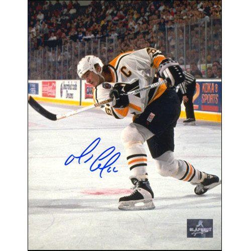 Mario Lemieux Photos Pittsburgh Penguins Slapshot Signed 8x10