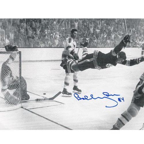 """Bobby Orr Signed Photo """"The Goal"""" 8X10 Photo"""