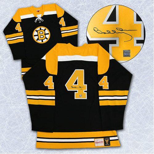 Bobby Orr Signed Jersey Boston Bruins Mitchell & Ness COA:GNR
