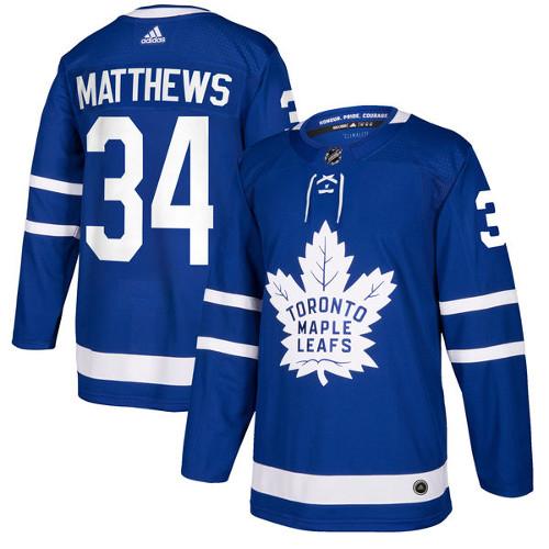Auston Matthews Toronto Maple Leafs Adidas Authentic Home NHL Jersey