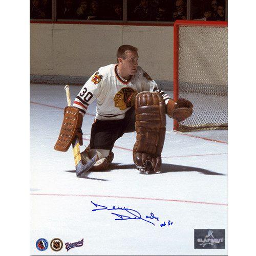 Denis Dejordy Signed Chicago Blackhawks Hockey Photo
