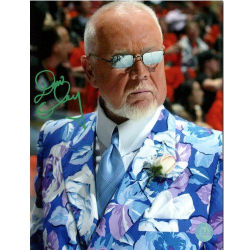 Don Cherry Autographed Flower Jacket & Sunglasses 8x10 Photo