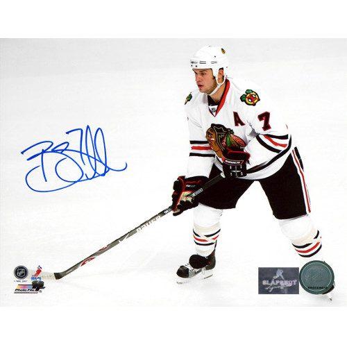 Brent Seabrook Chicago Blackhawks Signed 8x10 Photo