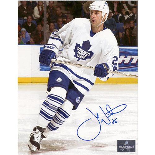 Joe Nieuwendyk Signed Toronto Maple Leafs 8X10 Photo