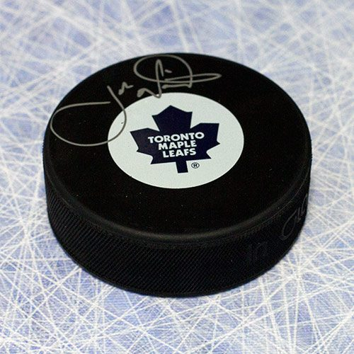Joe Nieuwendyk Toronto Maple Leafs Signed Puck