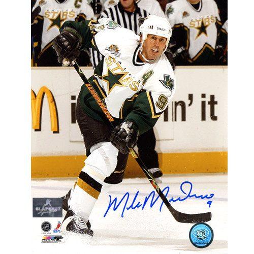Mike Modano Signed Dallas Stars 8X10 Photo