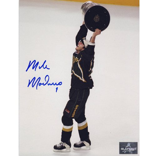 Mike Modano Dallas Stars Autographed 1999 Stanley Cup 8X10 Photo