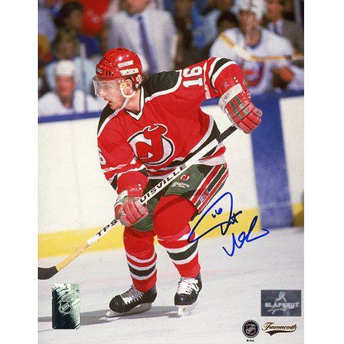 Pat Verbeek New Jersey Devils Signed 8x10 Photo