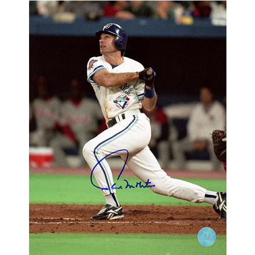 Paul Molitor Blue Jays Batting Signed 8x10 Photo