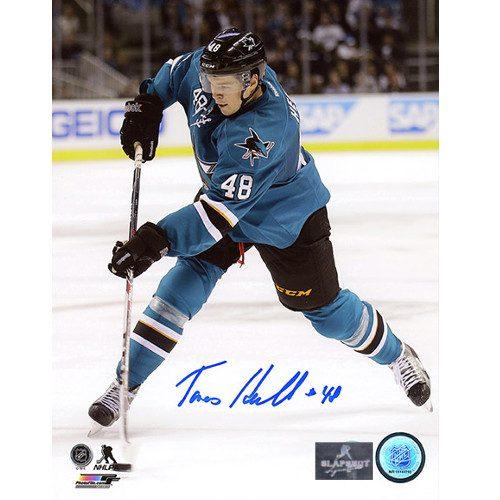 Tomas Hertl San Jose Sharks Autographed 8X10 Photo