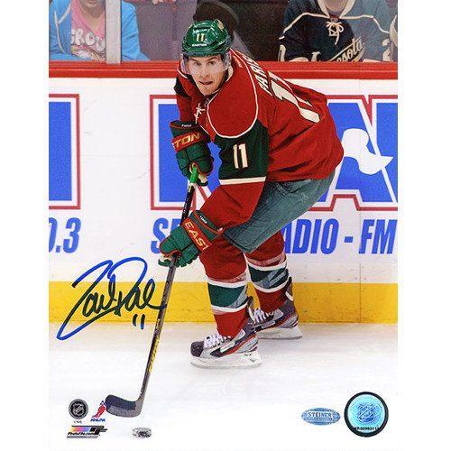 Zach Parise Minnesota Wild Signed 8x10 Photo