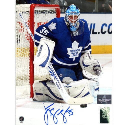 Jean Sebastien Giguere Goalie Maple Leafs Signed 8x10 Photo