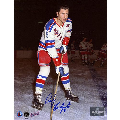 Andy Bathgate New York Rangers Signed 8x10 Photo