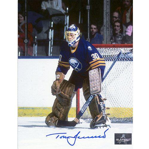 Tom Barrasso Buffalo Sabres Signed 8X10 Photo