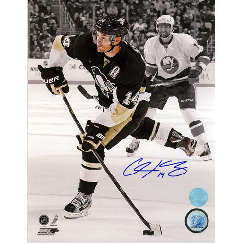 Chris Kunitz Photos Signed Pittsburgh Penguins 8X10