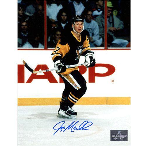 Joe Mullen Pittsburgh Penguins Signed 8X10 Photo