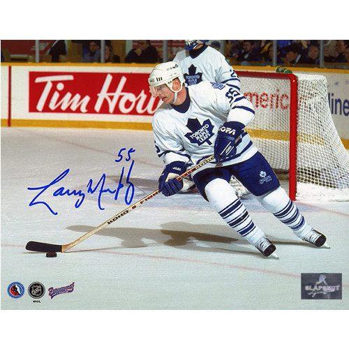 Larry Murphy Toronto Maple Leafs Signed 8X10 Photo