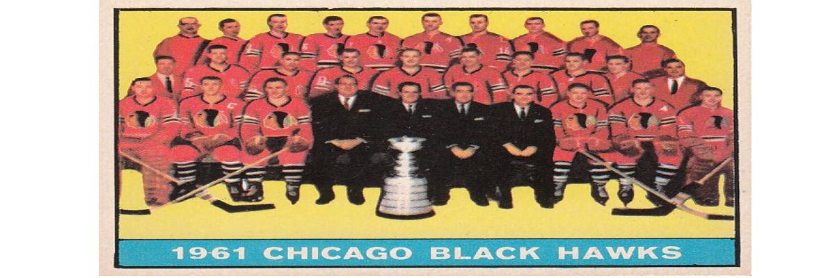 1961 – 1962 Topps NHL Hockey Cards