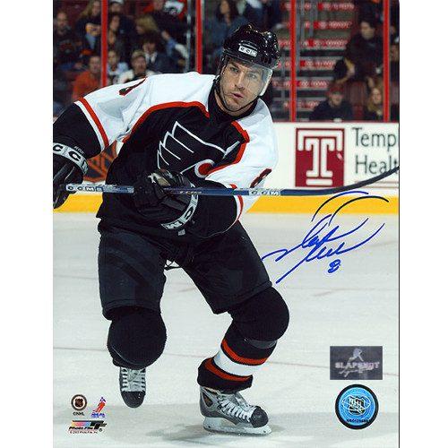 Mark Recchi Signed Photo-Philadelphia Flyers Action 8x10