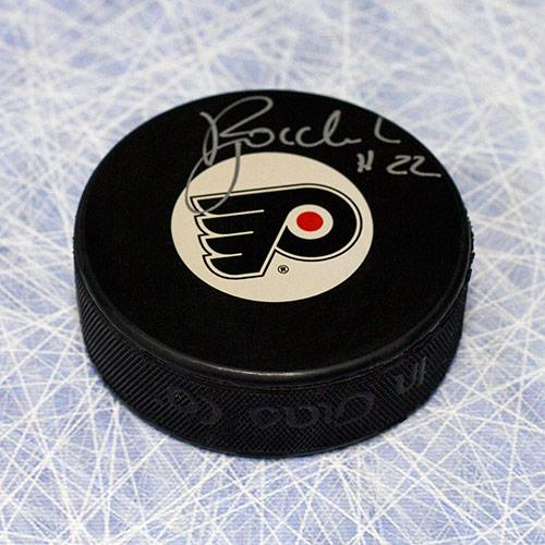 Rick Tocchet Philadelphia Flyers Autographed Puck