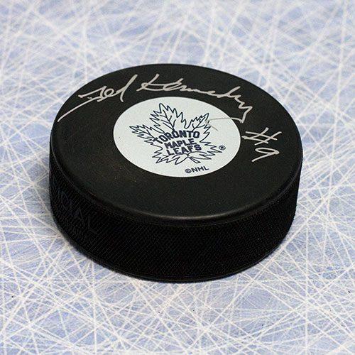Teeder Kennedy Toronto Maple Leafs Autographed Hockey Puck