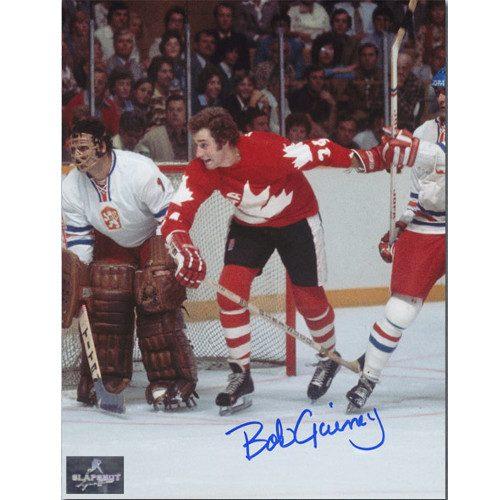 Bob Gainey Photo-Signed Team Canada 1976 Canada Cup 8x10