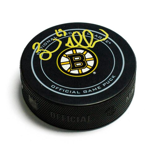 Brad Marchand Signed Puck-Boston Bruins Official Game Puck