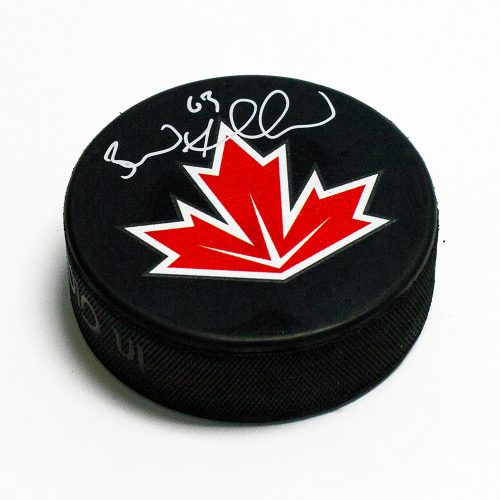 Brad Marchand Team Canada-Signed Puck 2011 World Cup of Hockey