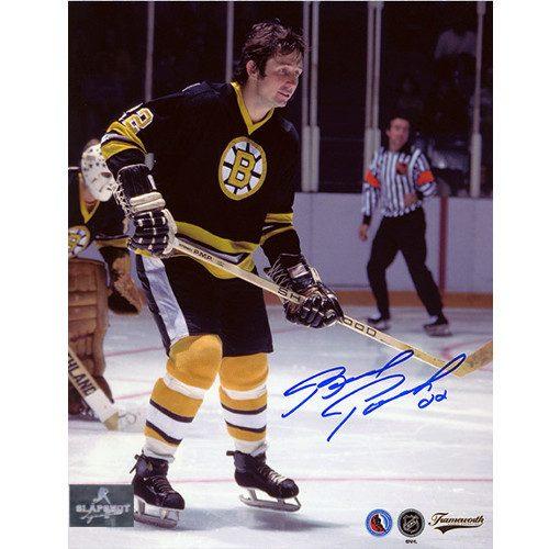 Brad Park Signed Photo-Boston Bruins Defenceman 8x10