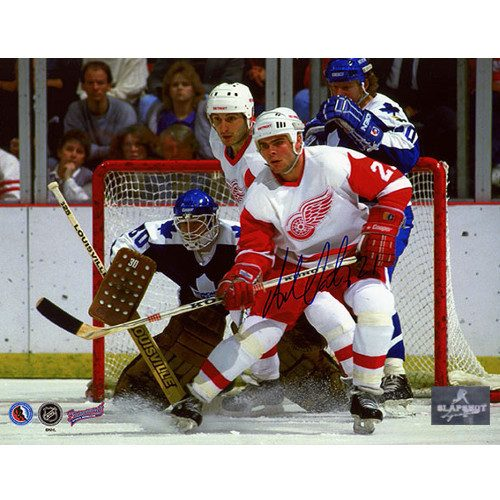 Adam Oates Detroit Red Wings Autographed 8x10 Photo