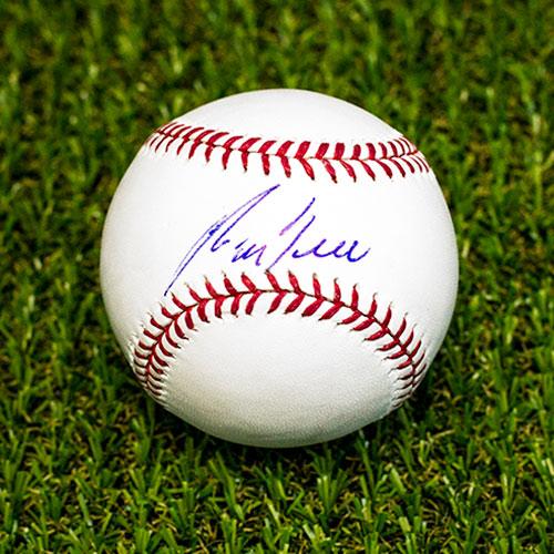 George Bell Signed Baseball Rawlings Official MLB Baseball Toronto Blue Jays