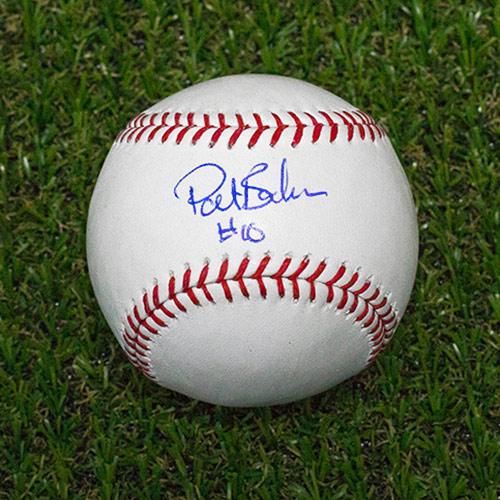 Pat Borders Signed Baseball Rawlings Official MLB Baseball Toronto Blue Jays