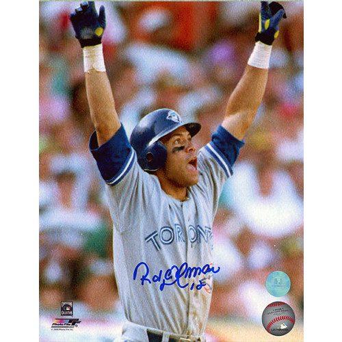 Roberto Alomar 1992 ALCS Home Run Toronto Blue Jays 8x10 Photo