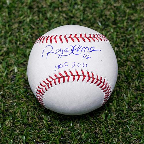 Roberto Alomar Signed Baseball Toronto Blue Jays HOF Inscription