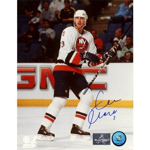Zdeno Chara Rookie Autographed Photo-New York Islanders 8x10