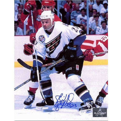 Brian Bellows Washington Capitals Autographed 8x10 Photo