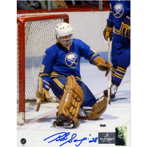 Bob Sauve Vezina Goalie Buffalo Sabres Autographed 8x10 Photo