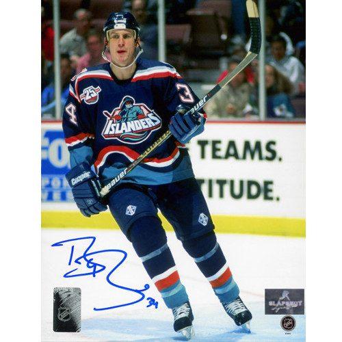 Bryan Berard New York Islanders Autographed Action 8x10 Photo