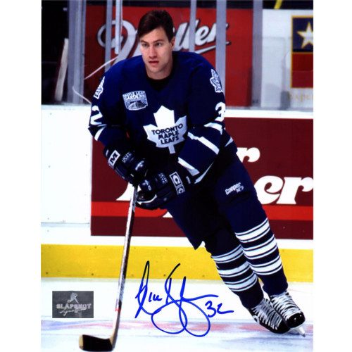 Nick Kypreos Toronto Maple Leafs Autographed Hockey 8x10 Photo