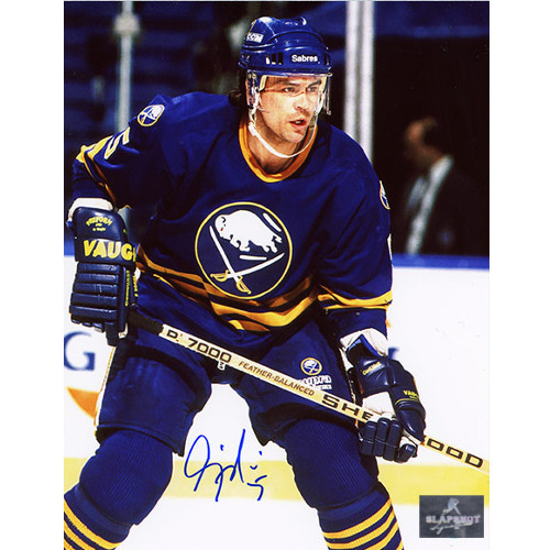 Craig Muni Buffalo Sabres Autographed Hockey 8x10 Photo