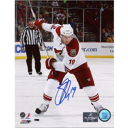 Shane Doan Autographed Photo-Captain 8x10 Photo Phoenix Coyotes