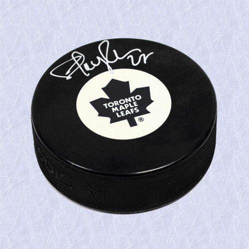 Shayne Corson Toronto Maple Leafs Autographed Hockey Puck