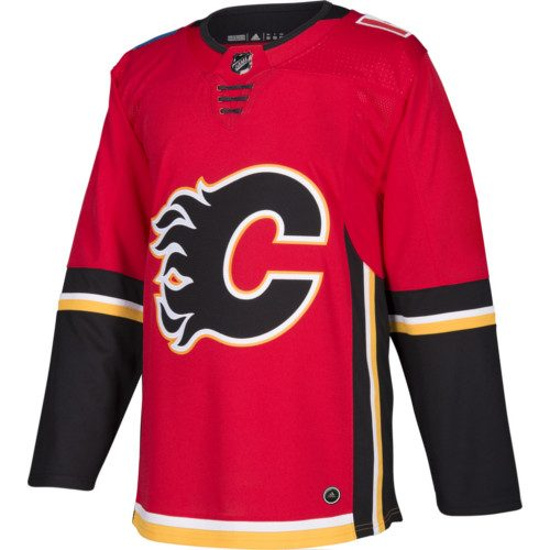 Calgary Flames Adidas Authentic Home NHL Jersey