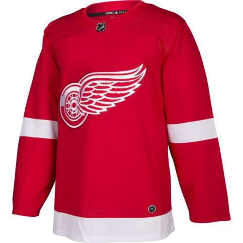 Detroit Red Wings Adidas Authentic Home NHL Jersey