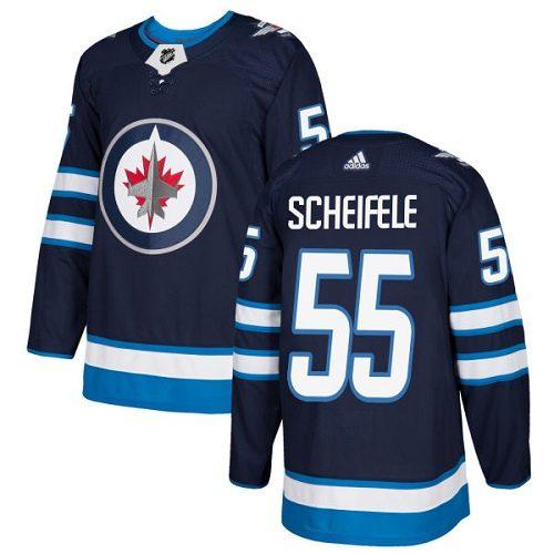 Mark Scheifele Winnipeg Jets Adidas Authentic Home NHL Hockey Jersey