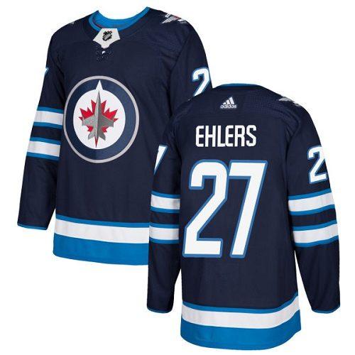 Nikolaj Ehlers Winnipeg Jets Adidas Authentic Home NHL Hockey Jersey