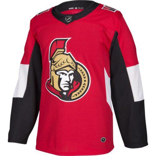 Ottawa Senators Adidas Authentic Home NHL Jersey